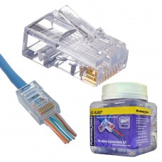 EZ-RJ45 Cat5e connector