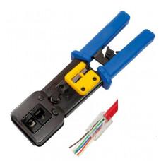 Krimptang voor doorsteek connectoren